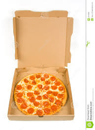 open pizza box with pizza.  Open Whole Pepperoni Pizza In A Box In Open Pizza Box With Z