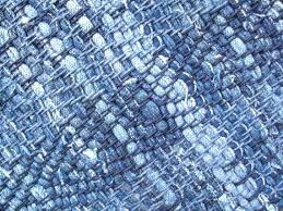 blue rag rug large jean braided