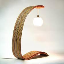 upcycled lighting ideas. exellent ideas skatelamp by sykes u0026 maplexo in upcycled lighting ideas