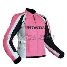 honda biker leather jacket in pink for women 500x485 800x800 jpg