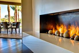 Decorations:Wall Mount Modern Fireplace Inside Contemporary Dining Room  With Decorative Walls Striking White Modern