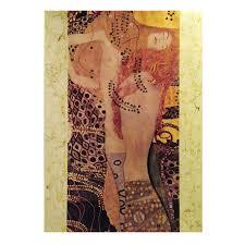 Quadro con lavorazione in foglia dorata - Klimt Biscie - Florence Glass  opere d'arte su vetro - Acquista su Ventis.