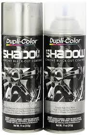 dupli color eshd10007 shadow chrome black out coating kit