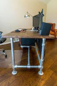 Best 25 Pipe Desk Ideas On Pinterest Industrial Pipe Desk Diy within Cool Diy  Computer Desks