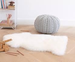 nuzzler rug in natural