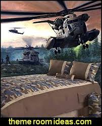 ... Camo_bedding_Rangers_to_the_Rescue_army_mural_army_theme_bedrooms ·  Camouflage Wallpaper Fun Wall Decorations Army Theme Bedrooms ...