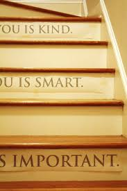Stairs Quotes Adorable Using Decals On Our Stairs Emily A Clark