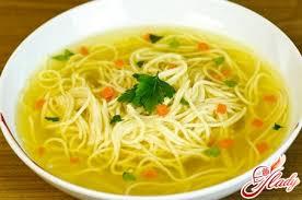 Фотографии еды продуктов фруктов Рецепт суп лапша с грибами Рецепт суп лапша с грибами