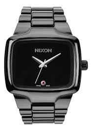 ceramic player men s watches nixon watches and premium accessories ceramic player all black