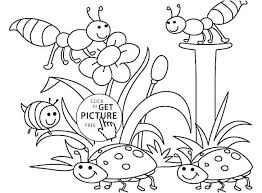 Spring Coloring Page For Kids Pages Boys Free Online Mandala Animal