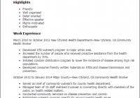 Public Health Resume Www Sfeditorwatch Com
