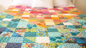 Color Dive Half-Square Triangle Quilt by Anna Maria Horner ... & Color Dive Half-Square Triangle Quilt Adamdwight.com