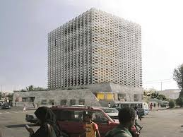 Office building facades Front Project Entry 2014 Africa Middle East Weaving Publicness Sociallyintegrated Office hellip Natalini Map Weaving Publicness Sociallyintegrated Office Building With Sus
