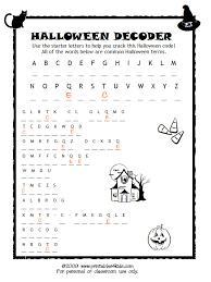 Halloween Code Breaker, Cryptoquiz, Brain Teaser : Printables for ...