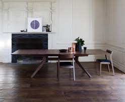 gray dining room furniture. Cross-extending-table-styleshot-walnut Gray Dining Room Furniture R