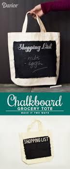 chalkboard grocery tote 8