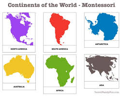 Small Picture Simple Continents Outline Of The World Map Coloring Pages