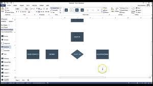 Create A Flowchart Using Visio