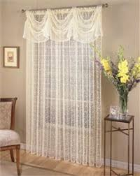 Priscilla Bridal Lace Curtain by Lorraine Home Fashions The Classic  delicate beauty of all over floral scrolled Bridal Lace is beautifully  finished with ...
