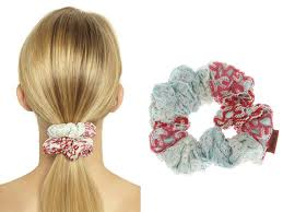 Designer Scrunchies 95 For A Missoni Scrunchie Designers Take On The 90s Hair