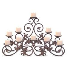 fireplace candelabra candle rack for fireplace crystal candelabra centerpieces