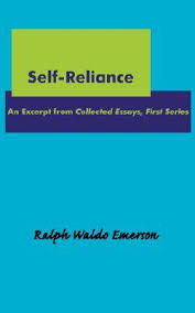 self reliance by ralph waldo emerson 1760630