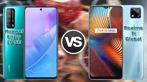 Realme 7i Global VS Huawei Enjoy 20 SE ...