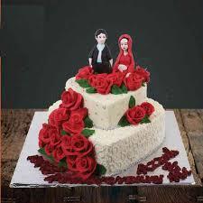 Heart Shape 2 Tier Cake Creations Flowers Shop In Delhi