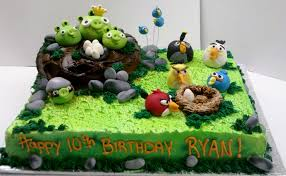 Leslie s Cool Cakes from Stan s Northfield Bakery Angry Birds Cake