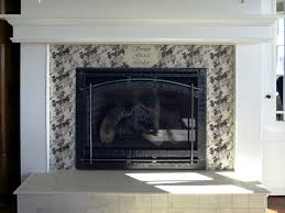 glass mosaic fireplace accent with fireplace mosaic tile ideas for mosaic tile fireplace