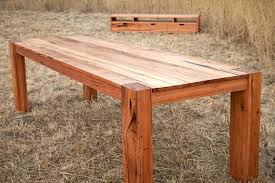 full size of reclaimed wood plank dining table timber melbourne gendreau hardwood fabulous room tables recycled