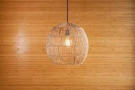 rustic lamp shade rattan lamp shade