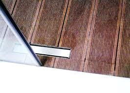 teak shower floor tray insert wood uk