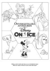 Kleurplaten Disney On Ice Brekelmansadviesgroep