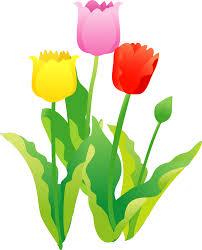 4月の花イラスト 子供と大人のための無料印刷可能なぬりえページ