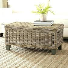 rattan coffee table glass top rattan end tables living room decorating frosted glass coffee table rattan