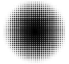 ドット グラデーション Illustrator 技法グラデーション ドット