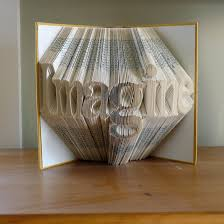 folded book art luciana frigerio