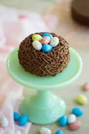 Birds Nest Easter Cake Preppy Kitchen
