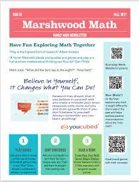 family newsletter marshwood math family newsletter marshwood great works