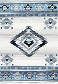 Blue navajo rugs Turquoise Larger Photo Tohatin Gallery Navajo Rug Aqua