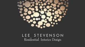 business cards interior design. Elegant Residential Interior Designer Gold Lighting Black Modern Business Cards Design