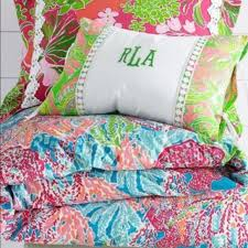 lilly pulitzer accessories let s cha cha duvet cover for a queen