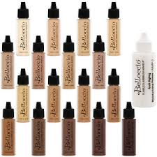 image is loading belloccio 17 shade airbrush makeup foundation set fair