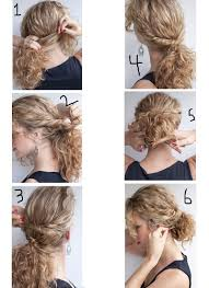 How I can Style My Curly Hair with Easy Steps at Home ...