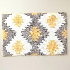 gray bath rug yellow and gray bathroom rug home design ideas yellow gray bath rug