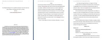 How To Write In Apa Format 1 Cover Letter