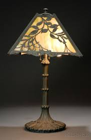 wilkinson table lamp brooklyn new york early 20th century