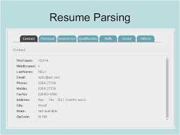Parse Resume Beauteous Resume Parsing Software Free New Resume Parsing What Is Parse Resume