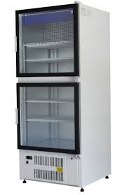 sch 1 1 double glass door cooler